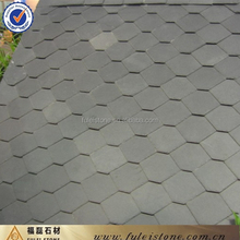 China Dark Grey Natural Slate Roofing Tiles