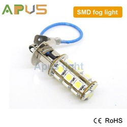 18pcs SMD 5050 epistar chip car 12V fog light h3 pk22s led