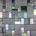mosaico patrón de flores de cristal (CA002)
