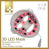 LED galvanic 3D led light thereapy machine, vibrating function LED 3D mask for facial