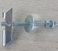 Cavity Fixings Heavy Duty Zinc Plated KD6,KD8 Gravity Toggle for Walls and Ceilings
