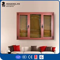 ROGENILAN 45 series aluminium european style windows for homes modern