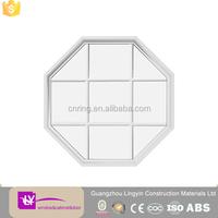 2015 latest octagon aluminum windows grill design in good price
