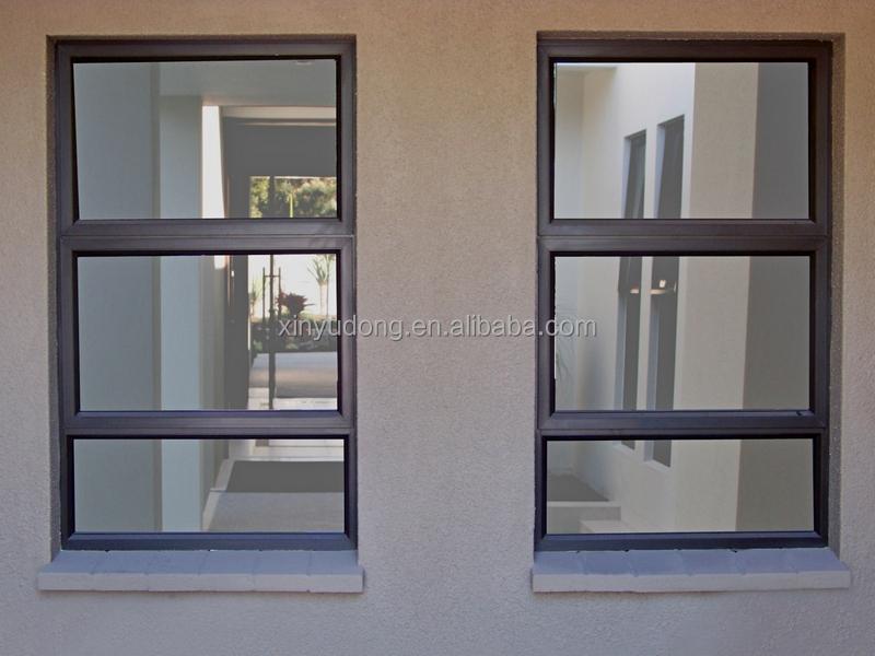 Horizontal Casement Windows : Horizontal aluminum casement window double glazing