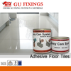Strong adhesive two component epoxy resin ab glue for crack repair marble floor