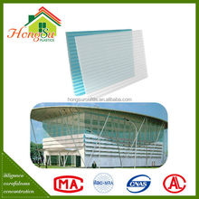 Competitive price sound insulation tinted polycarbonate sheet