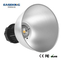 50w well driver high bay lights cover with CE/FCC/RoHS and IP44