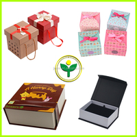 Colorful paper clothes packaging box elegant square gift packaging box made in dongguan