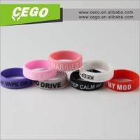 2015 Joy life silicon rubber band vape ring /vape ring silicon rubber band /vape ring