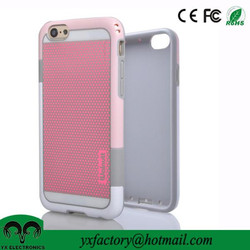 best selling 2 in 1 pc tpu wholesale cheap cute mobile phone cover for iphone 6