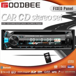 NEW!!! Fixed Panel 1 Din car CD / MP3 Player for Pakistan Best seller