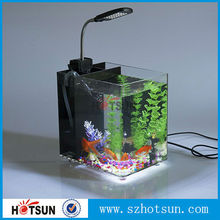2015 new product Acrylic Aquariums,clear acrylic fish tank with LED light