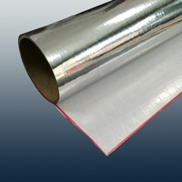 Perforated White PVC facing material with aluminum foil for building