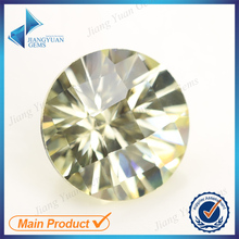 Round cut cz stone sythetic stone large stock cubic zirconia made in wuzhou