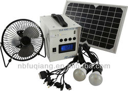 FQ-910W Portable 10W mini solar power system for home with CE & ROHS certifications