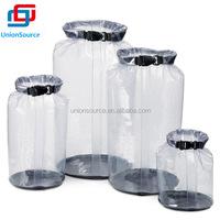 Clear Durable Camping Waterproof Dry Bag Pack Set