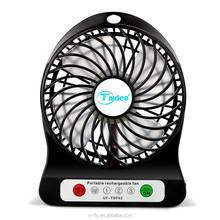 Amazing! Portable mini recharging fan Battery USB fan rechargeable carry fan