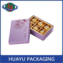 Hot Stamping Rose Empty Box For Chocolate Wholesale