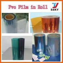 Golden Supplier whole sale transparent soft pvc sheet