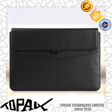 universal leather business type case bag for ipad