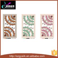 Custom design digital silk printed shawl scarf