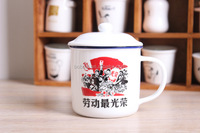 China supplierantique copper mug with logo