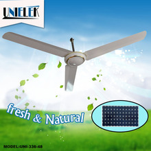 12v bldc ceiling fan brushless dc motor 320RPM dc solar ceiling fan 48
