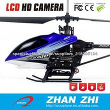 Helicóptero de control remoto de 4 canales rc helicóptero con cámara barata rc