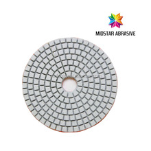 MIDSTAR Granite Polishing Wet Pads