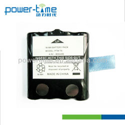 Rechargeable storage battery Rechargeable battery pack 600mAh 4.8V for TLKR - T5,T6,T7,T8(PTM-T5)