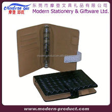 a4 leather refillable notebook organizer