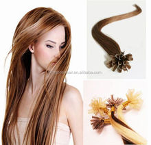 100strands /pack strands hair double drawn U tip hair extension with long life