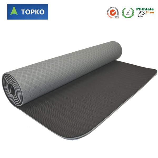 Recycled Tpe Material Extra Thick Topko Yoga Mat Buy Tpe