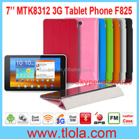 7 inch MTK8312 Dual 3G Calling Tablet with Leather Case