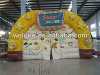 advertising inflatable, food court for sale