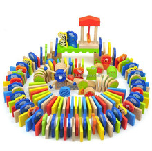 preschool teaching aids/ wooden educational learning toys/ mechanism dominoes/ cartoon animal design alphabets dominoes/