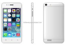 Hot Sale Classic White Addroid Cellphone MTK6572/ Double Core 1.5GMHz/Quad Band/Camera/Big Sound/Android 4.4