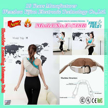 F-718B tie shoulder belt with humanized design unique to the human body neck, shoulder, waist deep massaging and rubbing