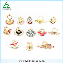 For Mobile Phone Odd Shape Ring Stand Holder With Diamonds Universal Holder For Mobile Phone