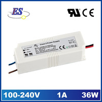 35W 36V AC-DC Constant Voltage LED Driver Power Supply with CE CB TUV UL CUL