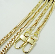 Nice high never fade durable new design popular fashion long metal gold chain