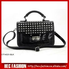 Trendy Rock handbag,Studded Satchel Bag,CT14331
