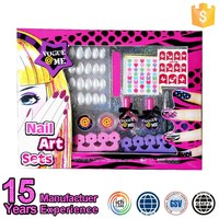 For Age 6 And Up Multi Color Kid Beauty Nail Art Set
