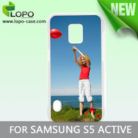 DIY photo case with coated aluminium plate for Samsung Galaxy S5 Active