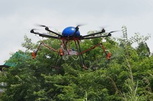 Helicóptero não tripulado agricultura drones helicóptero para a cultura de pulverização agrícola