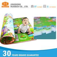 Customized soft anti slip baby play gym mat
