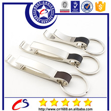 Metal key ring manufacturer cheap custom bottle opener keyring