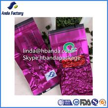 tea packaging bags vacuum seal