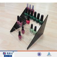 2015 high quality new fashion design acrylic nail polish shelf