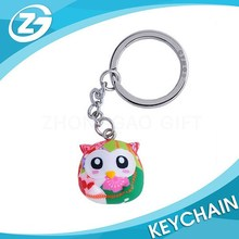 3D Customized Cute Design Rubber Keychain